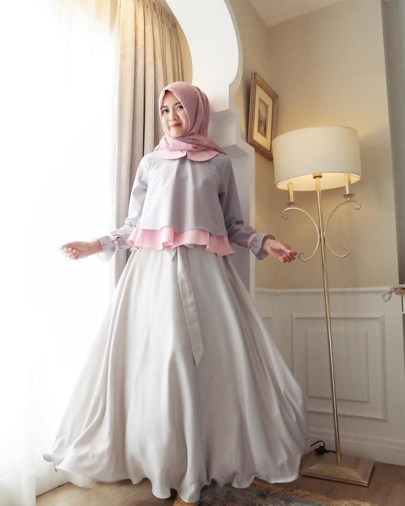 Cantik dan Stylist dengan Model Baju Pesta Muslimah - Ndszone